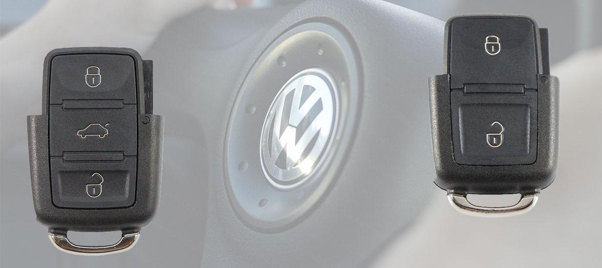 Volkswagen Autoschlüssel Oberteile