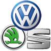 Silikonhüllen für VW Seat Skoda