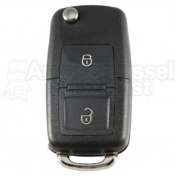 VW Skoda Seat- 2 Tasten Klappschlüssel mit eckigen Tasten