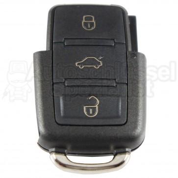 VW Skoda Seat- 3 Tasten eckig Klappschlüssel Oberteil Gehäuse