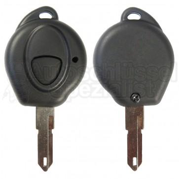 Peugeot/Citroen- 1 Tasten Schlüssel m. Rohling (NE)