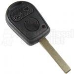 BMW- 3 Tasten Autoschlüssel m. Schlüsselrohling (HU92)