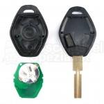 BMW- 3 Tasten Schlüssel m. Rohling (HU58) 434 Mhz mit ID44