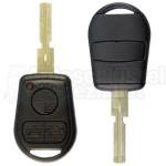 Autoschlüsselgehäuse mit HU 58 Schlüsselrohling für BMW