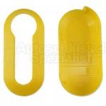 Gelber Gehäuse Clip für Fiat Klappschlüssel