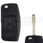 Ford- Klappschlüssel mit 3 Tasten Schlüsselrohling Tibbe