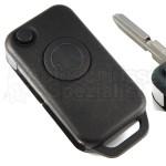 Mercedes Benz mit 1 Taste Klappschlüssel und Schlüsselrohling HU39