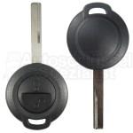 Mitsubishi-  2 Tasten Fahrzeugschlüssel mit Schlüsselrohling