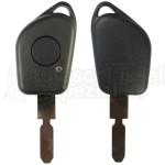 Peugeot/Citroen- 1 Tasten Fahrzeugschlüssel Schlüsselrohling (NE78)