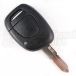 Renault 1 Tasten Schlüssel mit Elektronik 434 Mhz Transponder