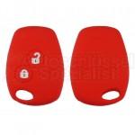 Rote Schlüssel Silikonhülle für Renault Fahrzeugschlüssel