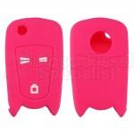 Pinke Schutzhülle für Opel Klappschlüssel