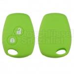 Grüne Schlüssel Silikonhülle für Renault Fahrzeugschlüssel
