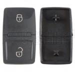 Vorder und Rückseite von Tastenfeld für Schlüsselgehäuse Oberteil