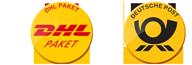 Versand nur per DHL und Deutsche Post