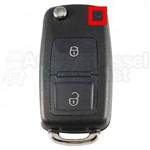 Volkswagen Position LED Klappschlüssel Oben